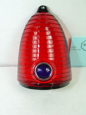 "1955 Chevrolet Blue Dot Tail Light Lens ""Guide"" Show Quality"