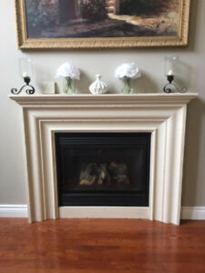 Fireplace Mantel in Cast Stone