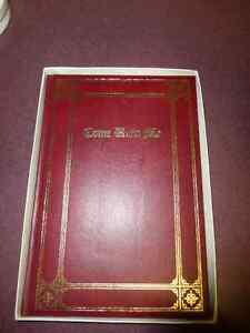 Vintage Funeral Book - Come Unto Me - 1962