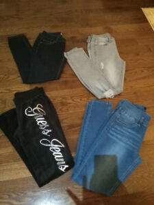 6 PC LOT LADIES CLOTHING SIZE XS/SIZE 1