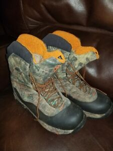 camo Rocky hunting boots goretex insulated scentek size 8.5