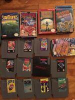 Various Nintendo, sega Genesis, jaguar, Super Nintendo and more