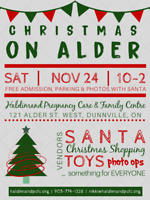 Christmas on Alder Vendor Event