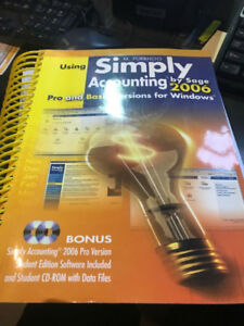 Simply accounting by sage 2 cds 2006 pro and basic ver windows