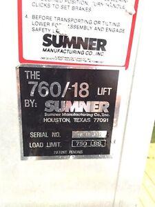Sumner Lift 760 /18  $700 or B.O. Kingston Kingston Area image 2