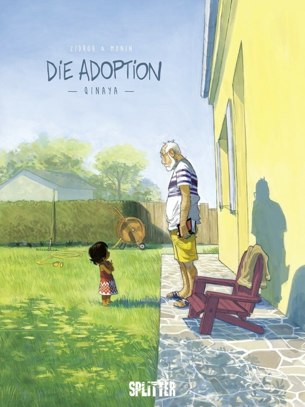 Die Adoption 1  Splitter Verlag Neuware