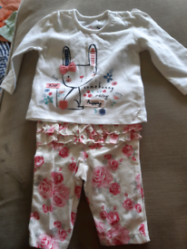 New born girls out fit