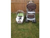 PUSHCHAIR AND CARSEAT MAMAS PAPAS