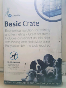 Dog Crate New (still in unopened original packing).  XL