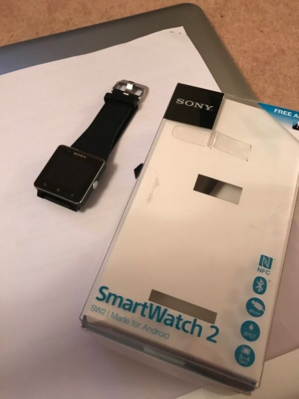 1f6ce9df796d Sony Smartwatch 2. Nottingham ...