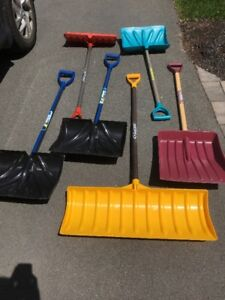 For Sale: Yard Tools & Snow Shovels