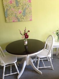 Shabby chick dinning table