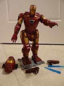 Large Animated Iron Man Figurine