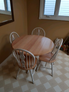 Kichen Table and 4 chairs  120.00 obo
