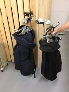 Complete Set of Women's L Golf Clubs with Bag