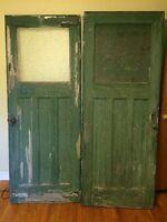 Rustic old door