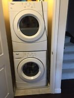 Front load washing machine for sale.