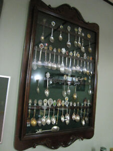 Spoon Collection Cabinet Show Case