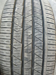 a vendre 1pneu 255 55r18 continental crosscontact ETE SUMMER 50$