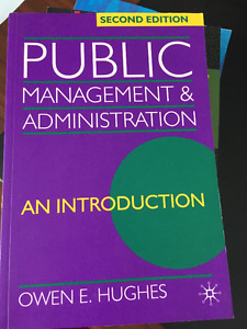 Public management and administration second edition