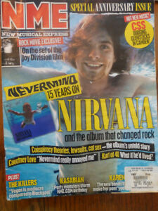 NME UK music magazine Kurt Cobain