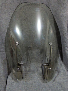 motorcycle windshield with brackets / hardware
