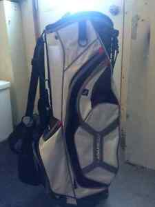 Putter and golf bag