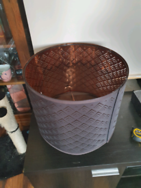 £5 for Ikea bronze lampshade