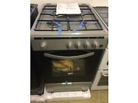 New silver gas cooker