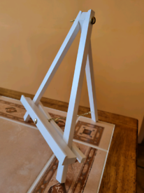 White Table Easels