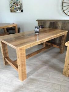 table en bois de grange La Cardinale