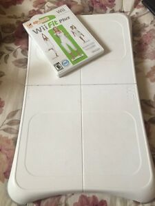 Wii Fit Plus and balance board - yoga!