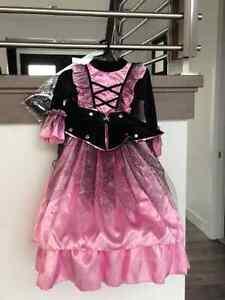 costume halloween princesse pirate grandeur 4 ans