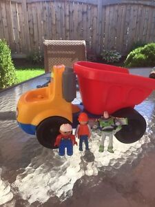 Fisher Price Truck & 3 extra toys FUN!! (Delete when sold) London Ontario image 1