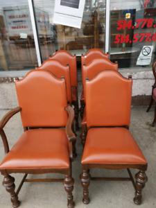 6 chaises antique très bonne état