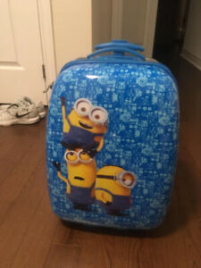 EUC Minion Kids Luggage $40