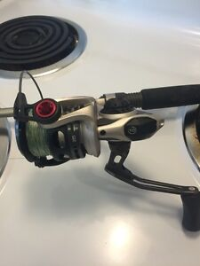 EXO PT Quantum fishing reel and rod combo