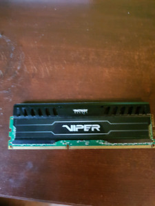8GB 1600MHZ PATRIOT VIPER 3 DDR3 MEMORY