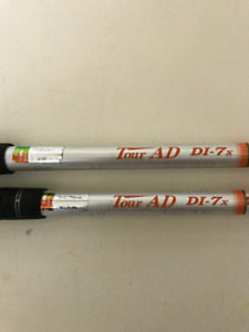 Two Tour AD-DI 7x shafts with Cobra Amp heads