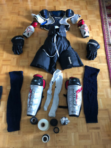 Hockey Bag with Full Set of Gear