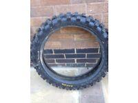 Motorcross back tire