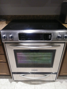 $350 OBO - KITCHENAID S/S Stove, GOOD CONDITION