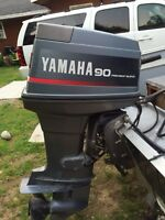 Yamaha 90 HP outboard for sale