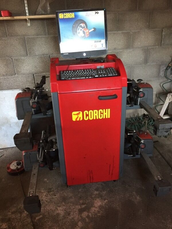 Corghi Exact 70 Wheel Alignment In Abergavenny Monmouthshire Gumtree