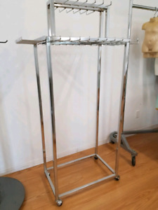Belt or Scarf Racks 2 Chrome Retail Store Fixtures Display