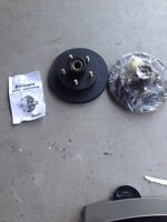Trailer buddy disc brakes and bearings MODEL DB35