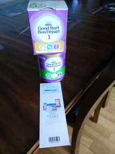 Unopened nestle goodstart formula