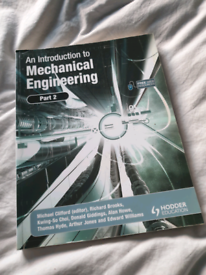 An Introduction to Mechanical Engineering Part 2 Paperback