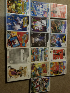 Selling 16 wii games