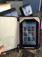 Kobo vox E reader with coach case